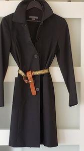 Teenflo black trench coat jacket Matrix size 8
